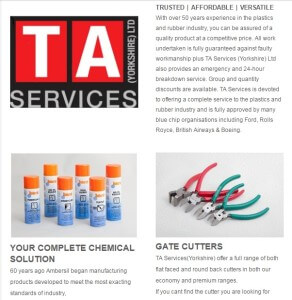 Content marketing TA Services Promo Plastic News