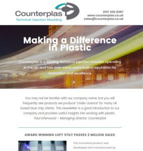 counterplas newsletter