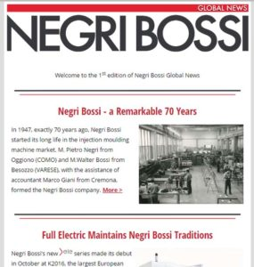 Negri Bossi Newsletter