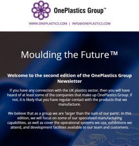 Oneplastics newsletter