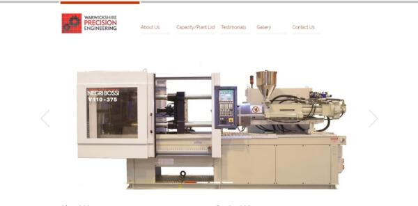 warwickshire precision engineering homepage