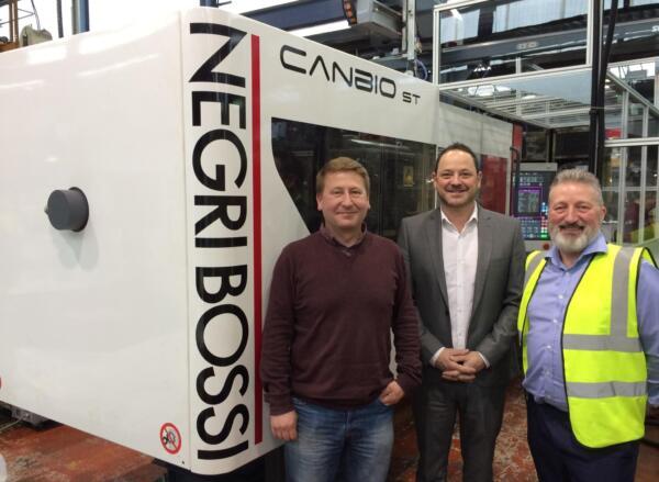 Counterplas Install Negri Bossi Machine - UK Plastics News