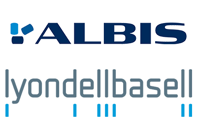 ALBIS and LyondellBasell logos - UK Plastics News