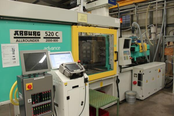 ComoNeo on machine at Waldon - UK Plastics News