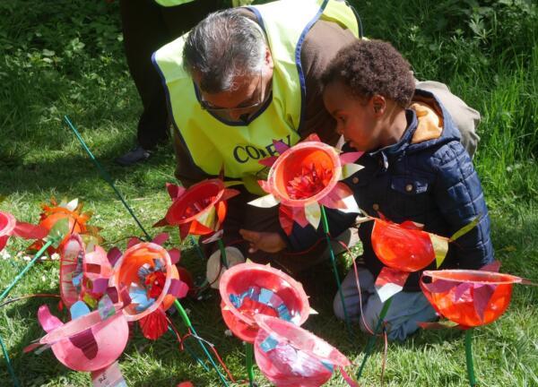 UK Plastics News Belgrade PP Flower Lamp