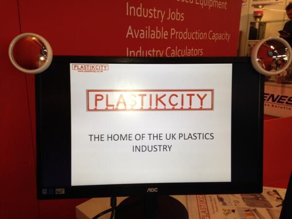 UK plastics news Interplas 2014 PlastikCity monitor mirrors