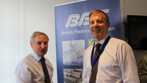 UK plastics news Bruce Margetts BPF President