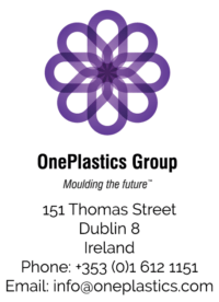 UK Plastics News OnePlastics logo and address