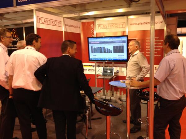 UK plastics news PlastikCity stand at PDM 2014
