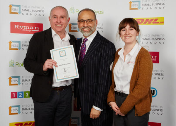 UK plastics news PlastikCity with Theo Paphitis at #SBS Event 2017