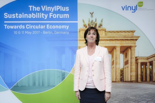 UK Plastics News Brigitte Dero VinylPlus Sustainability Forum