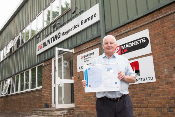 Plastics news Denis Elkins of Bunting Magnetics