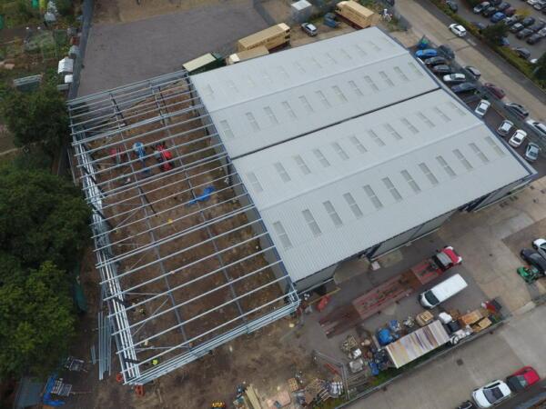 New TCB-Arrow building