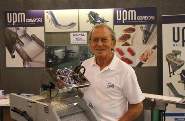 Plastics news Roy Fowler at PPMA Show