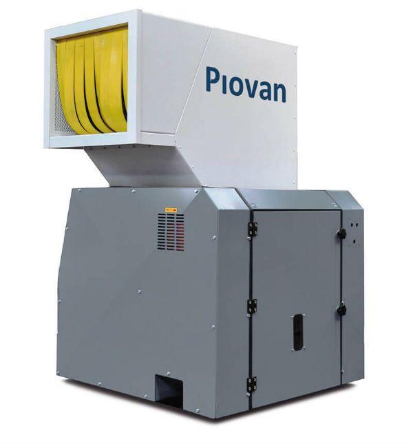 Plastics news - Piovan granulator