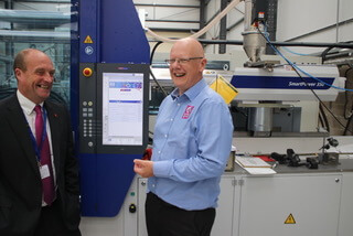 Plastics news Wittmann Battenfeld injection moulding machine at Avon Group