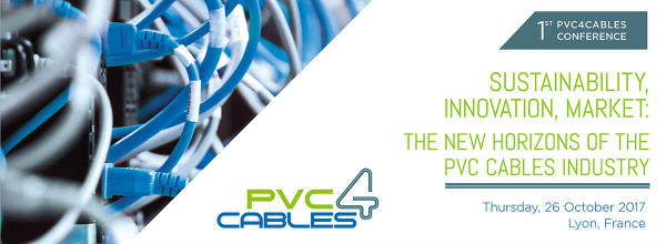 Plastic news - pvc4cables conference banner