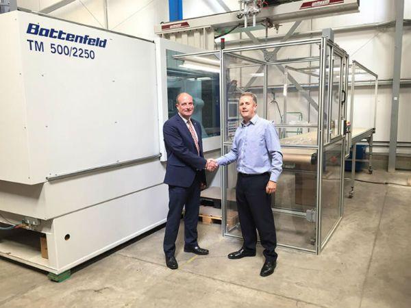 Plastics news - Wittmann Battenfeld works for LGG Charlesworth