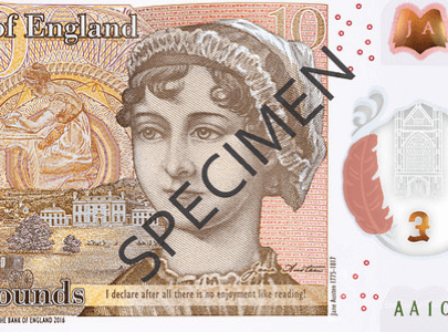 Plastics news polymer £10 note