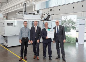 Plastics News Arburg Celebrates Allrounder Milestones
