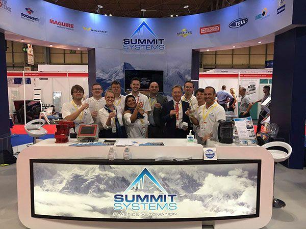 Plastics news Summit Systems at Interplas
