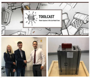 Plastics news Toolcast donate Injection Mould tool to school