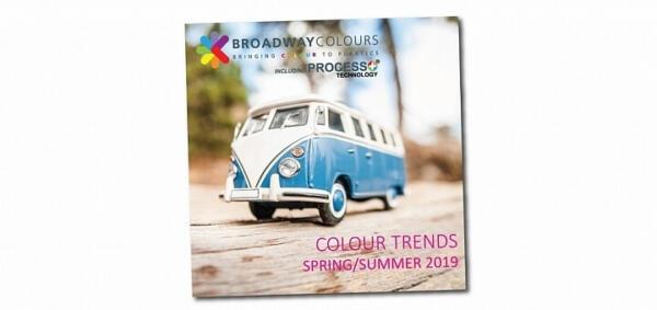Plastics news Broadway Colours colour trends