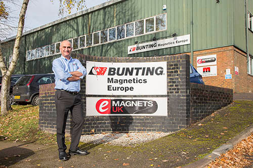 Plastics news Dave Hills from Bunting Magnetics