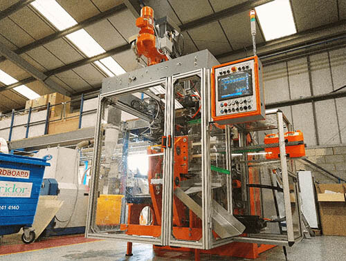 Plastics news Caledonian Plastics Take Delivery of GDK Blow Moulding Machine