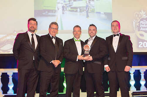 Plastics news ENGEL at Plastics Industry Awards