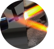 Fire testing material