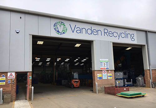 Plastics news Vanden Recycling site