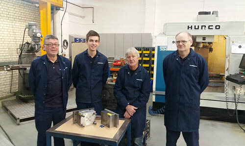 Plastics news Boddingtons apprentices