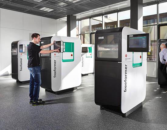 Plastics news Arburg Freeformer Centre