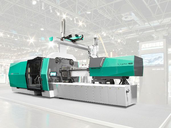 "Plastics news Arburg at the NPE 2018: ""Wir sind da."" – With Large Machines and Innovative Processes"
