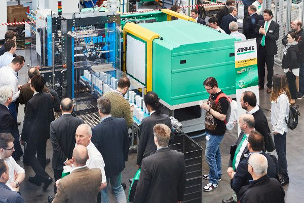 Arburg Machinery at event