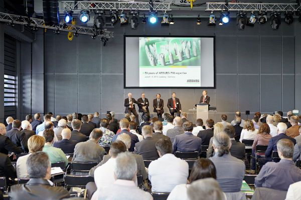 Plastics news PIM Experts From Around the World at Arburg