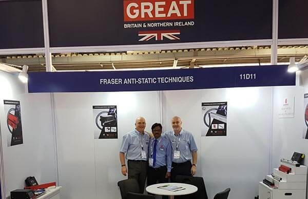 Plastics news Fraser Anti-Static at Plastindia
