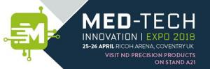 Plastics news ND Precision to Exhibit at Med-Tech