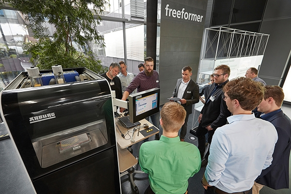 Plastics news Around 40 Experts Attend Arburg's Freeformer User Day 2018