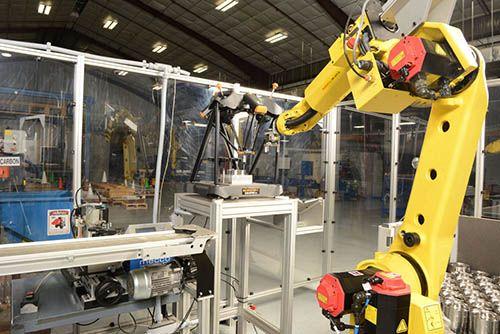 Plastics news Fanuc robot