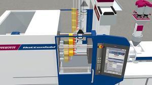 Plastics technology Wittmann Battenfeld machine