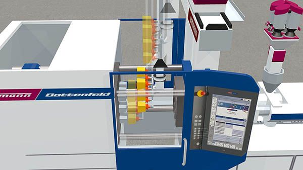 Plastics technology Wittmann Battenfeld machine