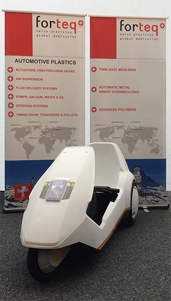 forteq UK's Sinclair C5 at Automechanika A17