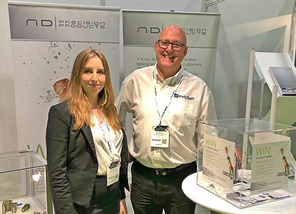 Plastics news ND Precision at Med-Tech Innovation Exhibition