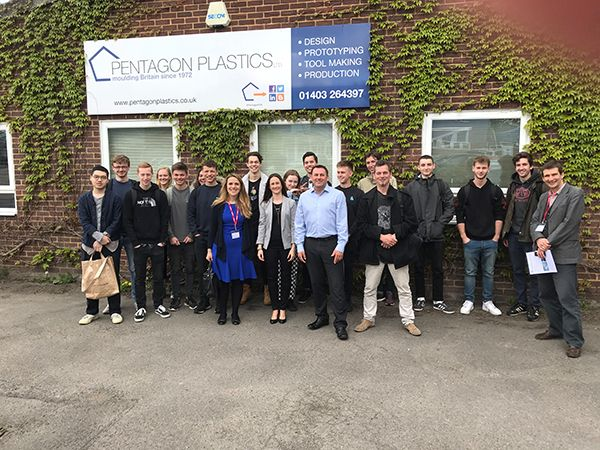 Plastics news Pentagon Plastics and The BPF Welcome Students from Brighton University
