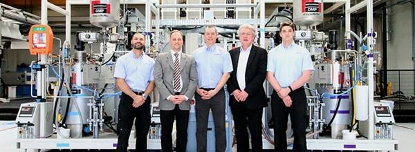 KraussMaffei Delivers HP-RTM System to British University