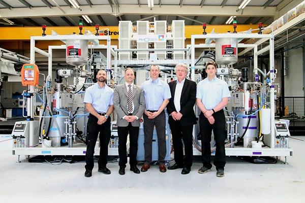 Plastics news KraussMaffei Delivers HP-RTM System to British University