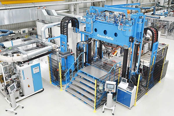 Plastics news KraussMaffei Reaction Process Machinery