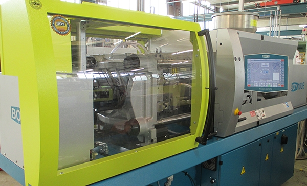 Plastics news It's A Boy! Another New Machine for LVS